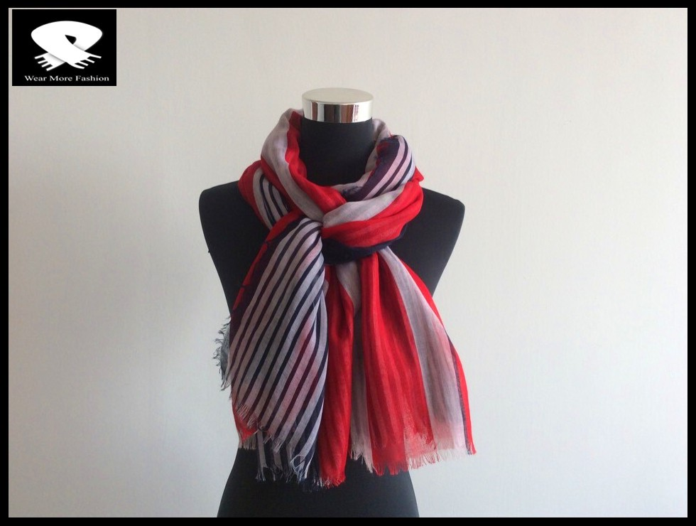 best-sale striped scarf