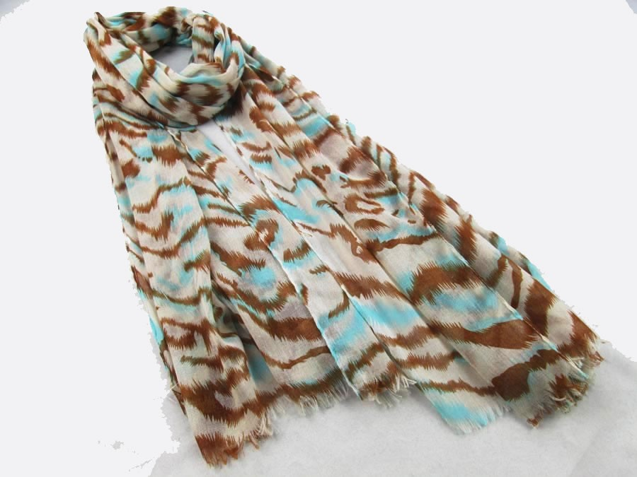 fashion leopard scarf