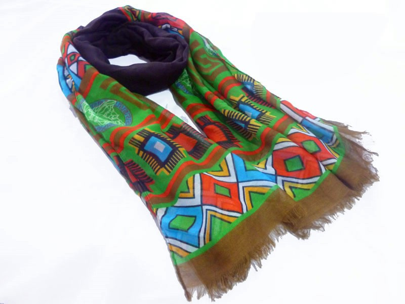 geo scarf made in China scarf factory