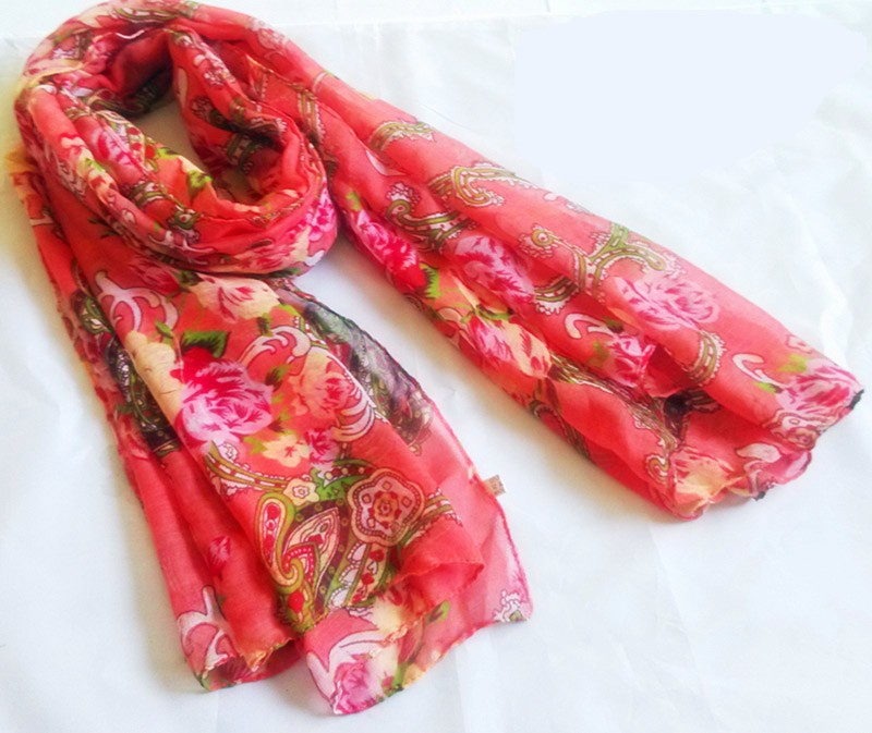 scarf factory in China, paisley scarf