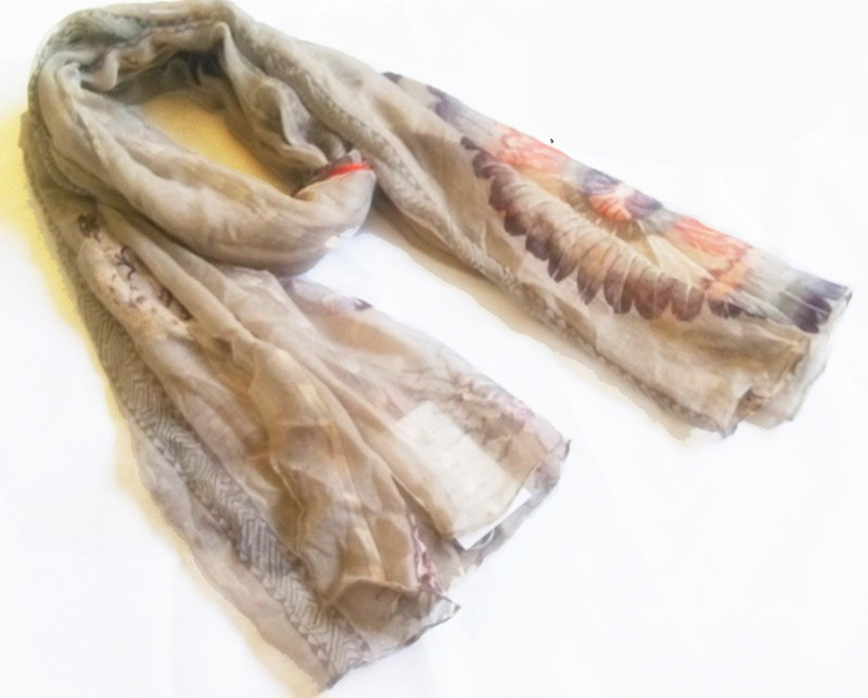 scarf factory in China produce polyester scarf