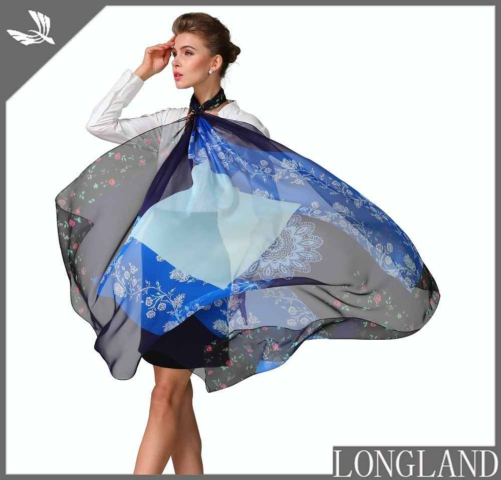 Amazing digital ponchos in China bandanna factory