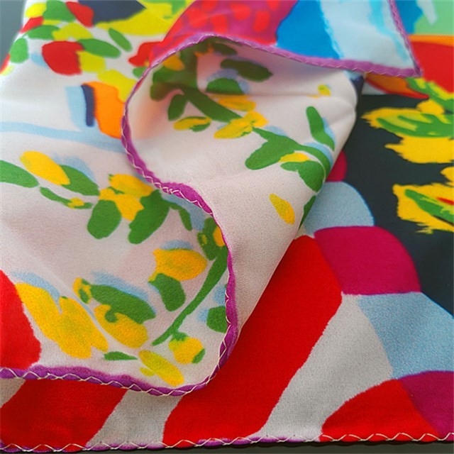 China scarf factory and scarf supplier china custom silk scarf bandanna