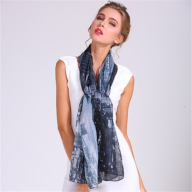 China scarf factory customized scarves with logo