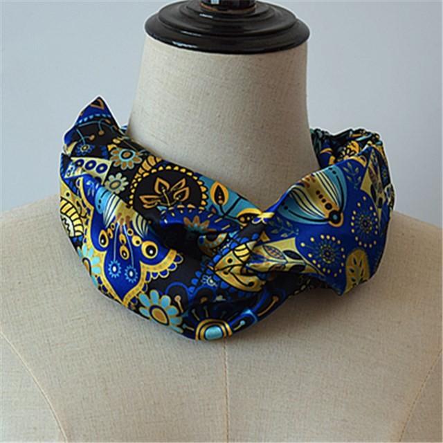 China scarf factory wholesale custom printed headband in bulk