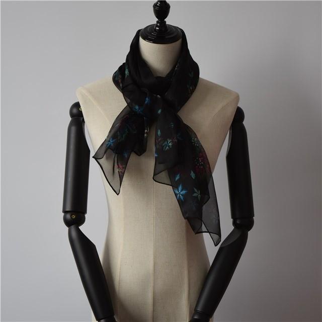 Digital scarf factory photo printed chiffon scarf