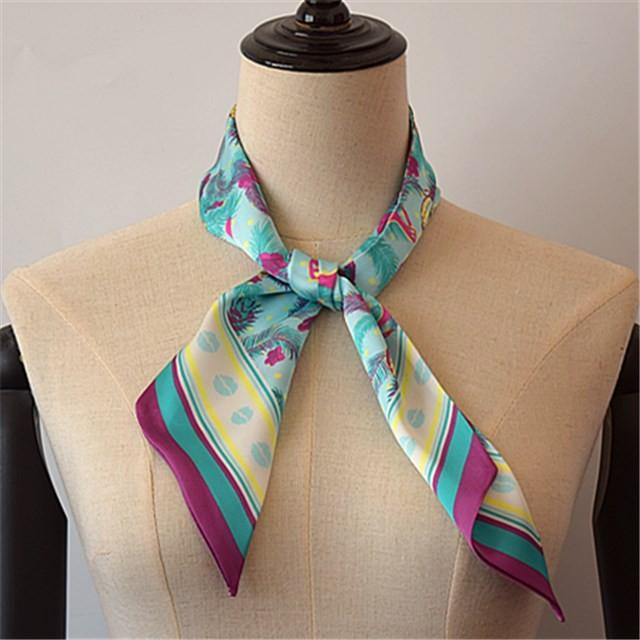 Scarf factory custom silk scarf by your own designs