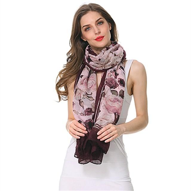 Scarf factory lightweight spring blossom scarves