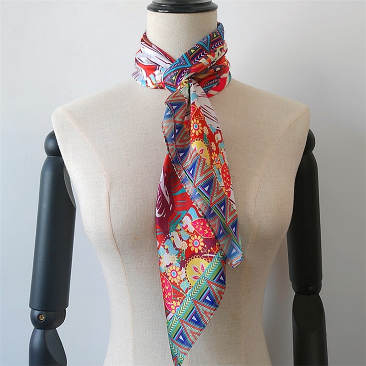 Scarf printer custom new silk bandana headband