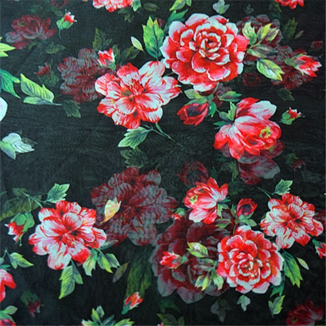 Silk scarf factory digital printed chiffon scarf