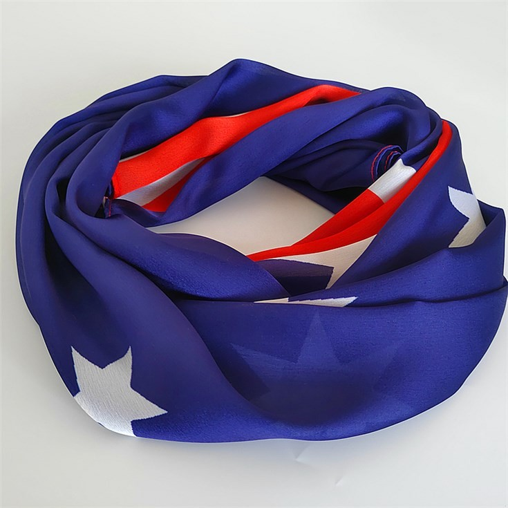 Silk scarf printer printing flag photo on the scarves