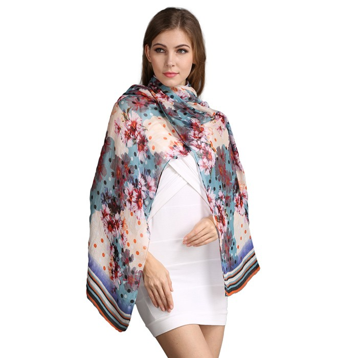 Scarf factory sublimation scarves made from recycle polyester