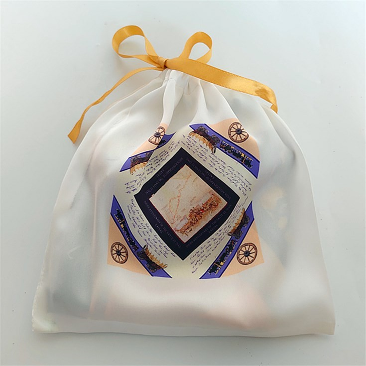Scarf factory custom printed bags with logo scarf packaging wholesale