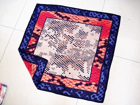 fashion silk scarf, your designs bespoke here