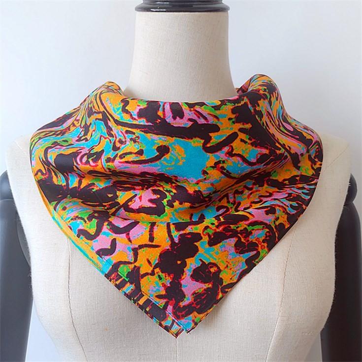 Silk scarf manufacturer custom printed silk scarves no minimum