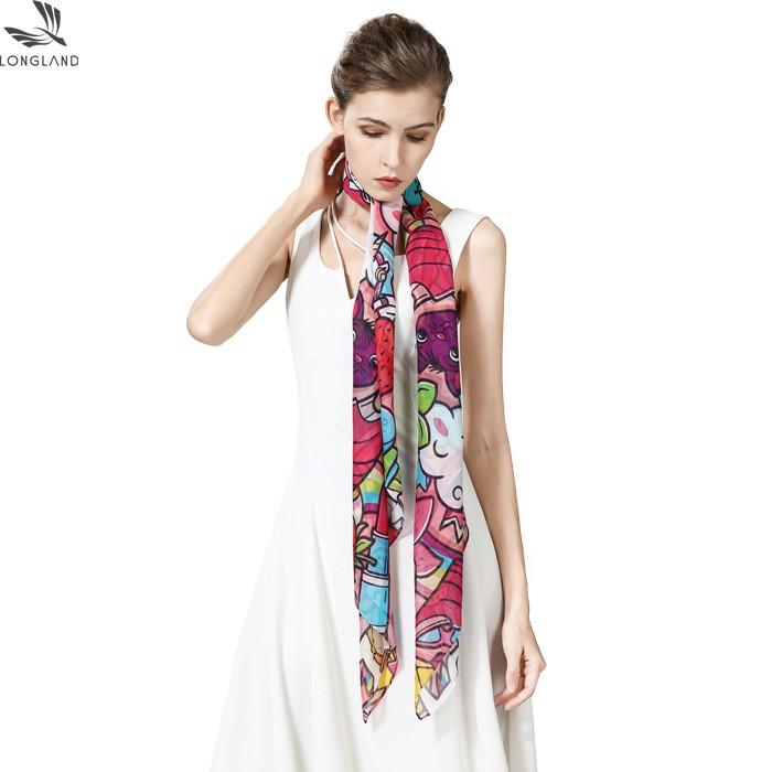 silk scarf factory custom silk scarf printing wholesale