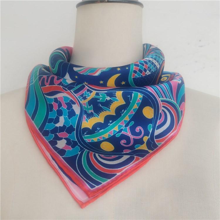 custom silk scarf manufacturer custom design silk scarf