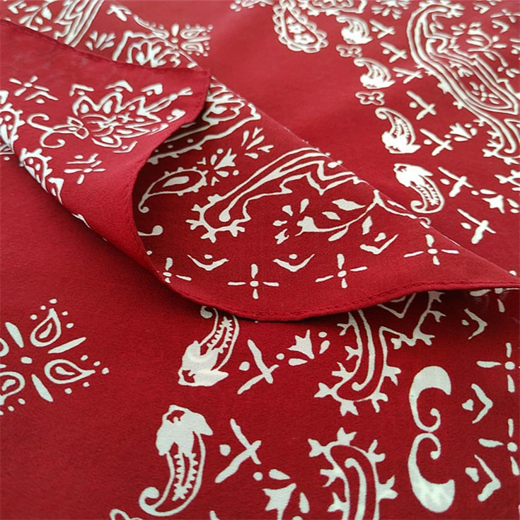 China scarf factory custom printed silk scarves wholesale
