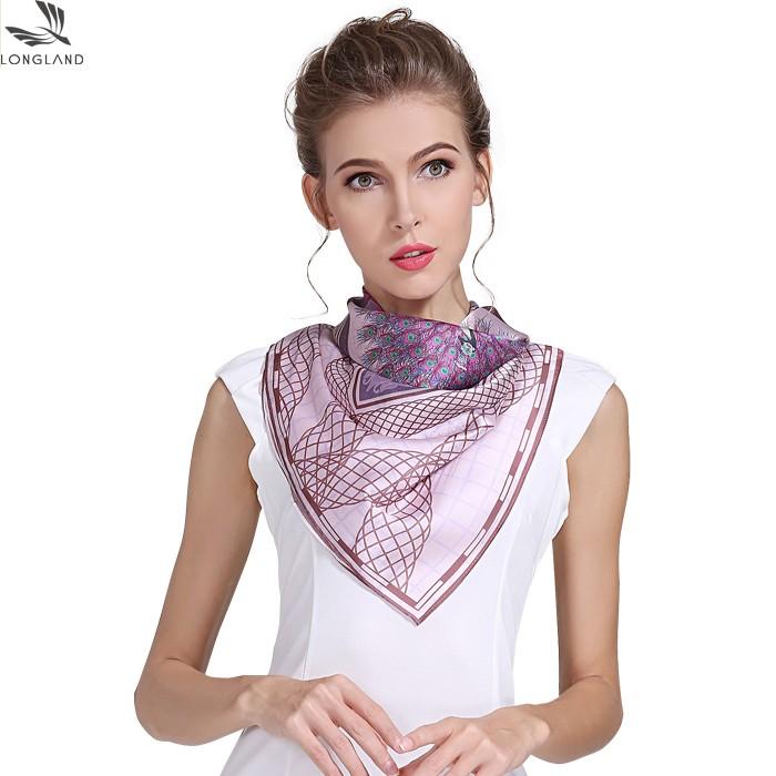 Custom bandana maker custom silk scarf printing wholesale