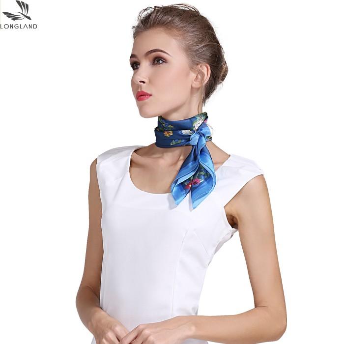 Custom silk scarf maker custom digital printing scarf