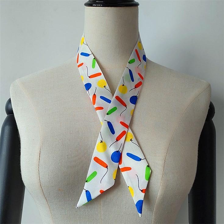 Factory Custom Printed Silk Scarves