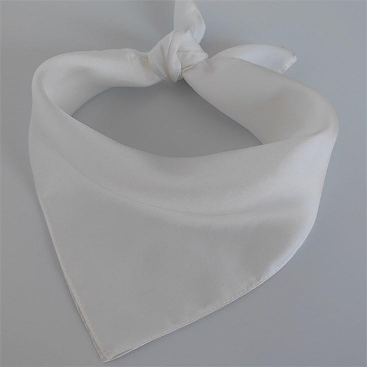 Scarf factory white silk bandana scarves bulk