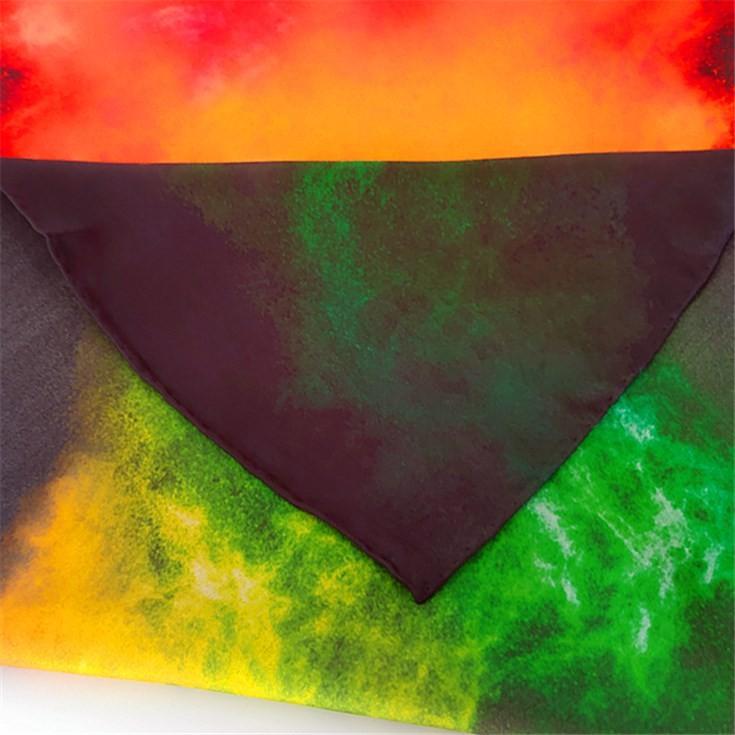 Silk scarf manufacturer custom printed scarves wholesale