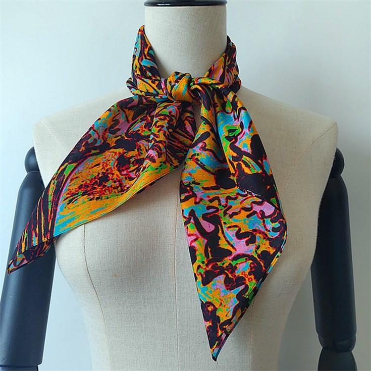 Custom Printed Silk Scarves No Minimum