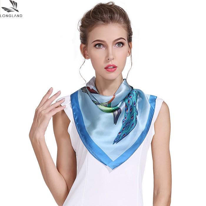 Silk scarf manufacturer custom silk bandanas