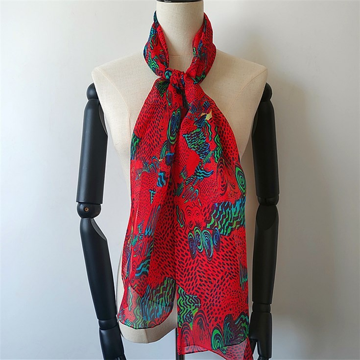 Silk scarf manufacturer custom silk head scarves wholesale