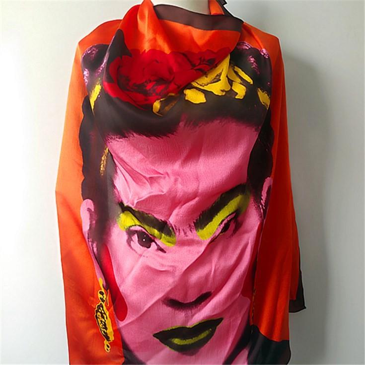 Silk scarf manufacturer custom silk head scarves with logo