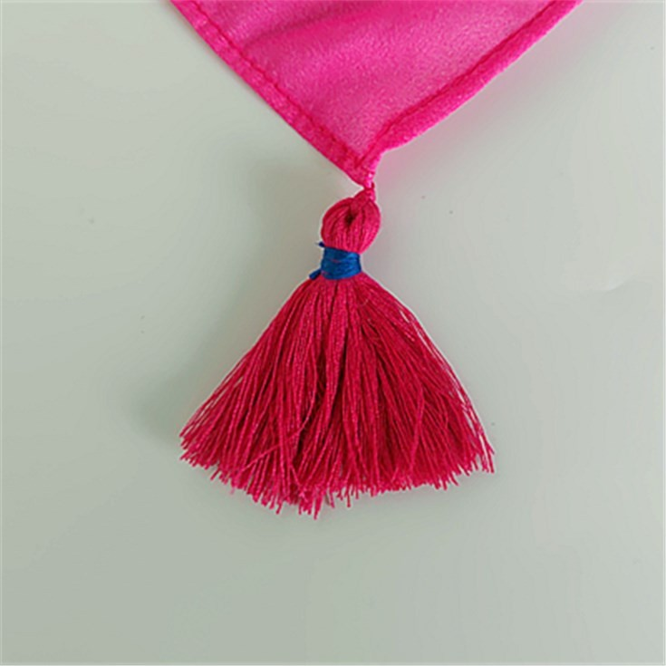 Silk scarf manufacturer custom silk scarves wholesale with tassels