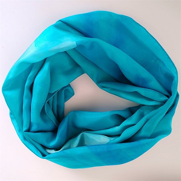 Silk scarf manufacturer digital silk scarf printing