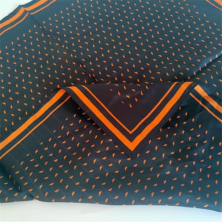 Silk scarf manufacturer machine hemmed 8mm habotai scarves