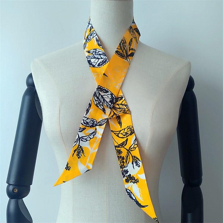 Silk scarf printer custom photo scarf no minimum