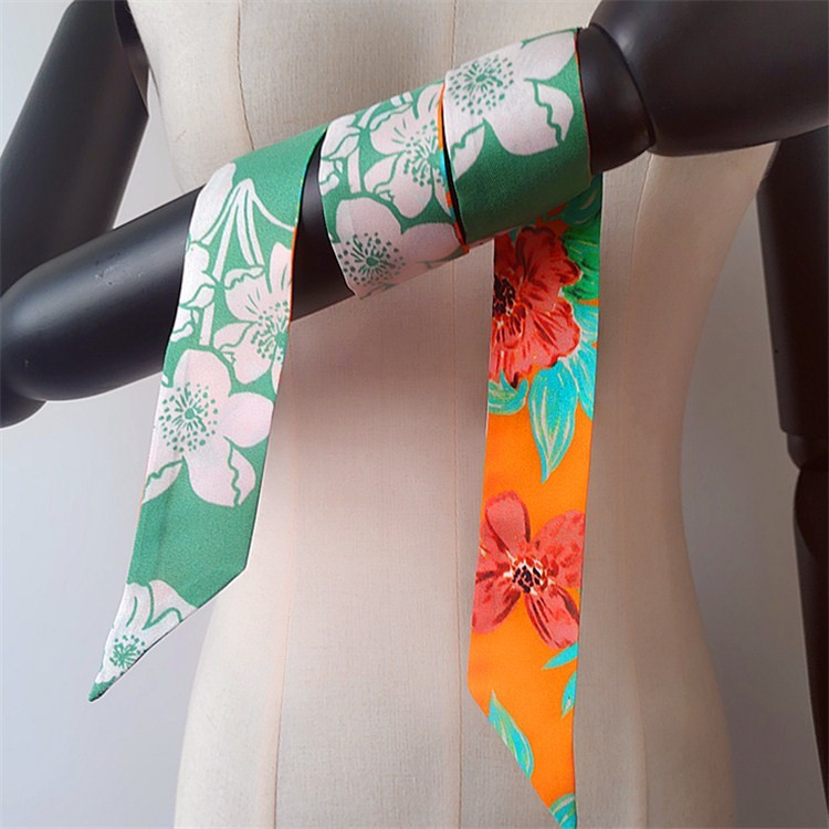 Silk scarf printer custom photo scarf no minimum
