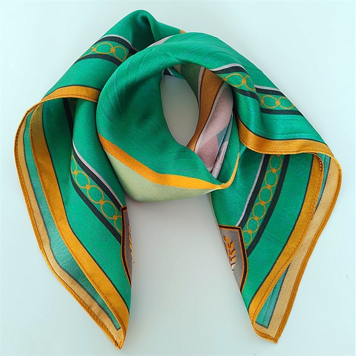 Silk scarf suppliers custom printed silk satin 12 mm scarves no minimum