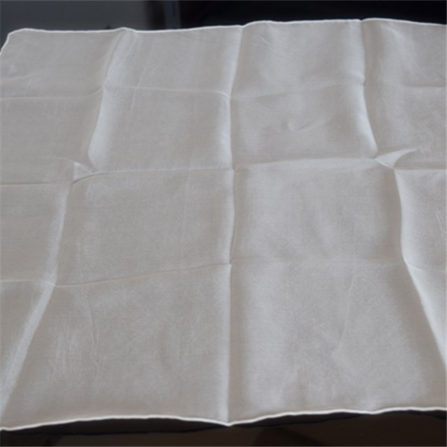 White silk chiffon 6 mm for Dying in China scarf factory