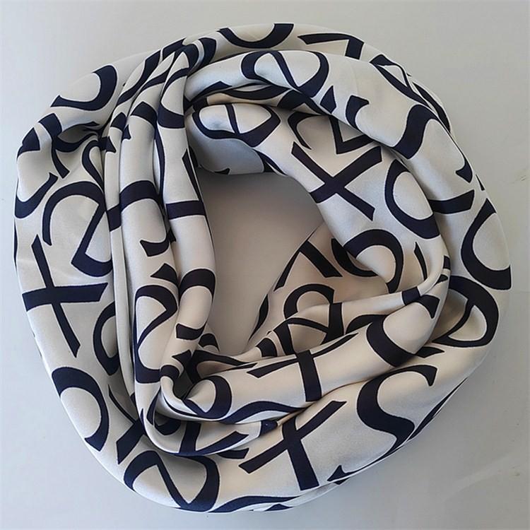 Wholesale silk scarf suppliers custom silk scarf printing