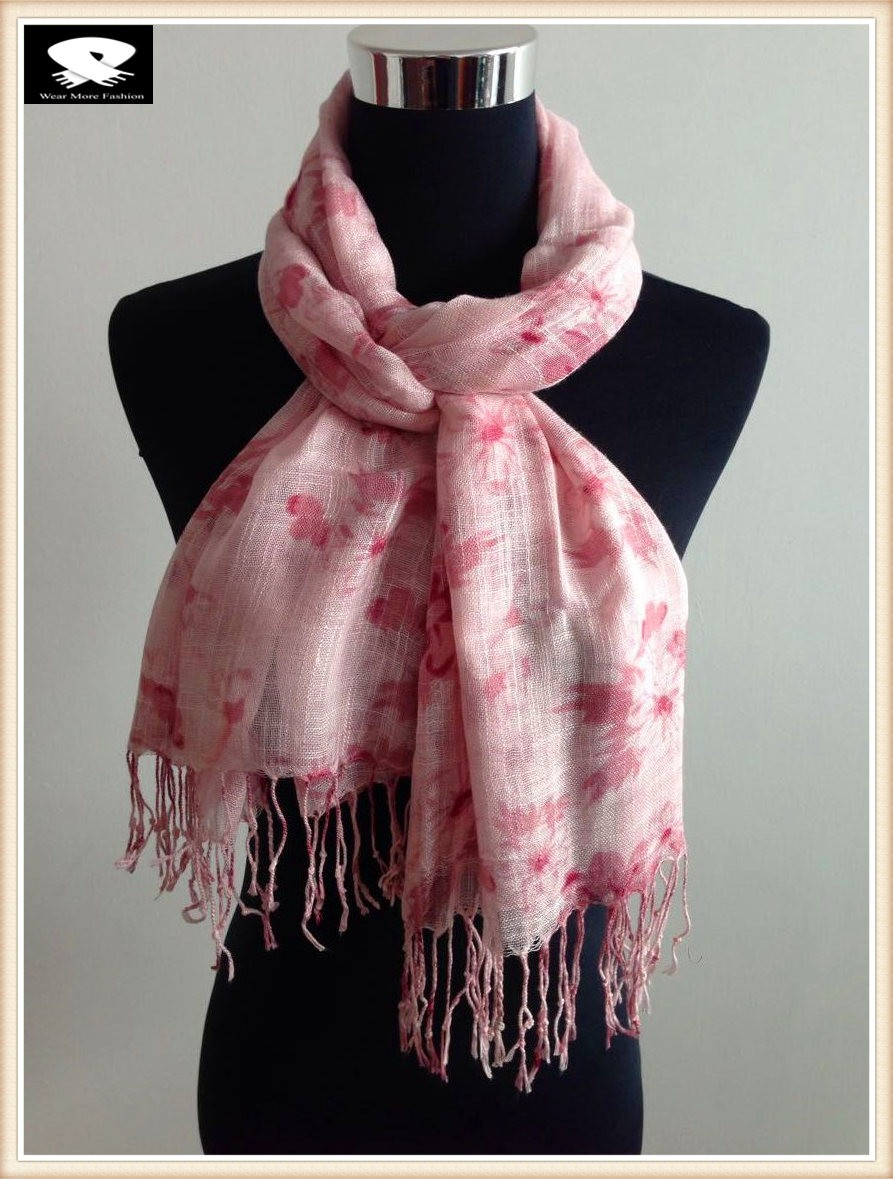 China scarf factory, bamboo viscose scarf