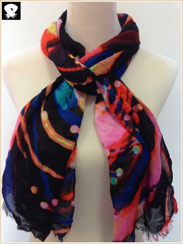 Gorgeous scarf bespoke in china scarf factory