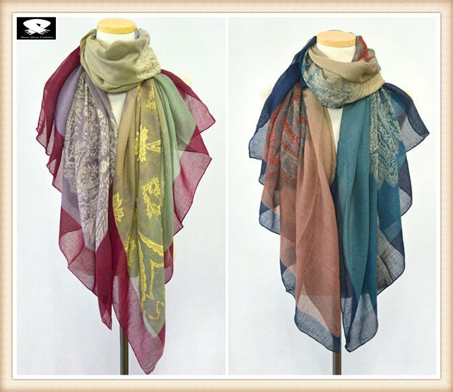 More colors available custom viscose scarf
