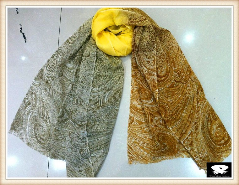 Paisley scarf, china scarf supplier