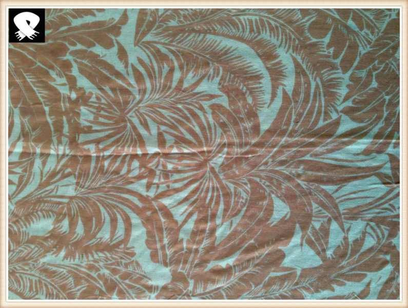 Palm leaves scarf develop in China scarf factory