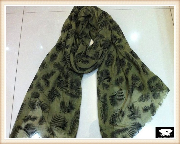 Screen printed scarf, china scarf manufacturer