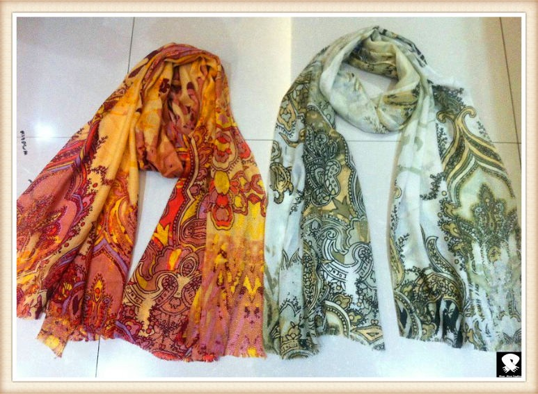 Soft viscose scarf, china scarf supplier