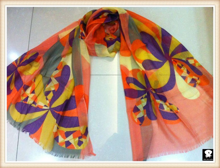 Spring viscose scarf, china scarf wholesale