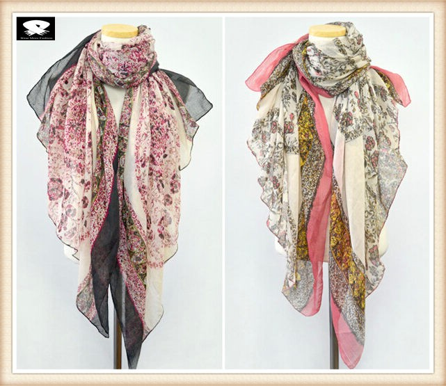 Viscose scarf bespoke in china scarf factory
