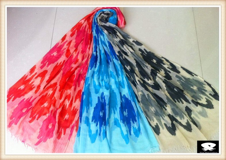 Viscose scarf,your scarf designs can bespoke here