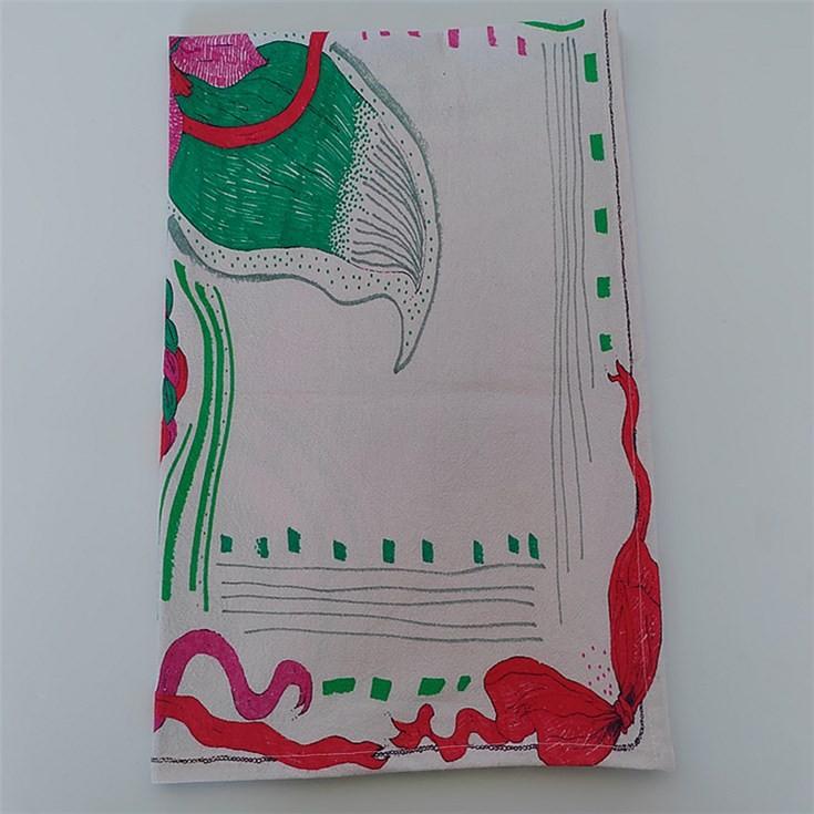 Tea towels manufacturers digital printing on promotional tea towels bulk